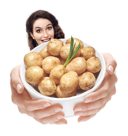 Y-cook Boiled baby potato